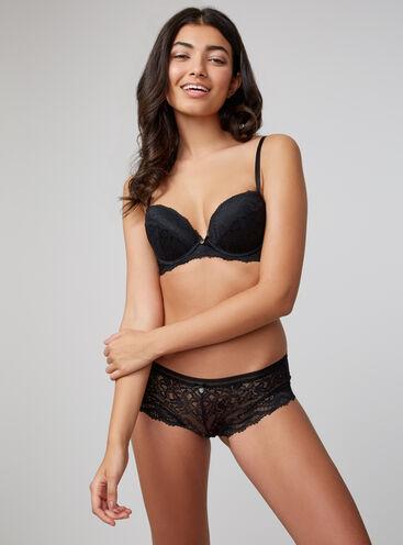 Lillie lace plunge lingerie set
