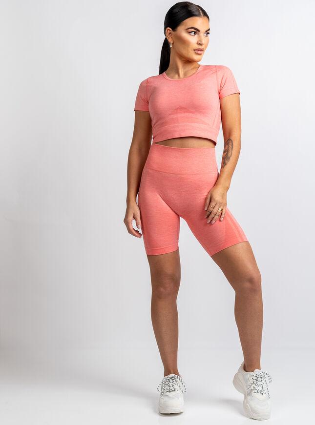 Boux Sport marl cycling shorts