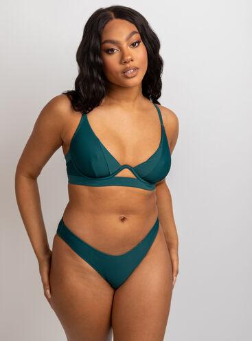 Cali mono wire bikini set