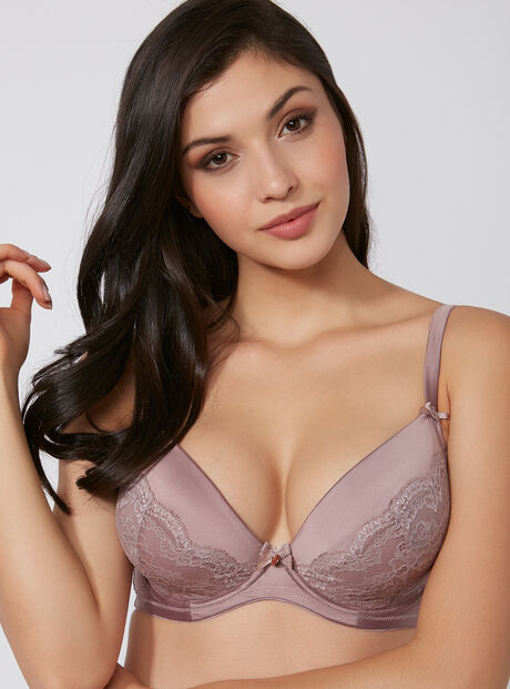 Samantha full support plunge bra