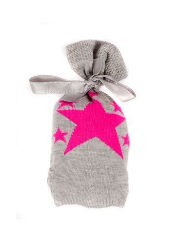 Star socks in a bag