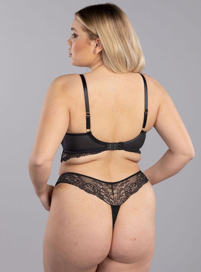 Clancy balconette lingerie set