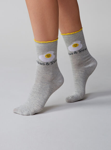 2 pack rise & shine socks