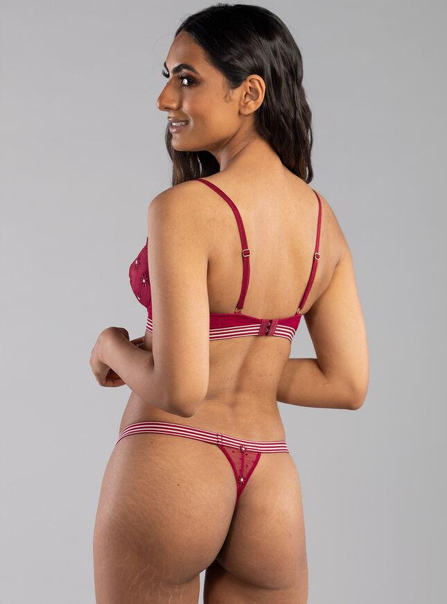 Rayna balconette lingerie set