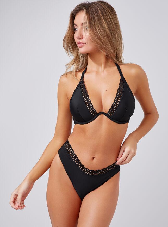 Ibiza laser cut bikini top