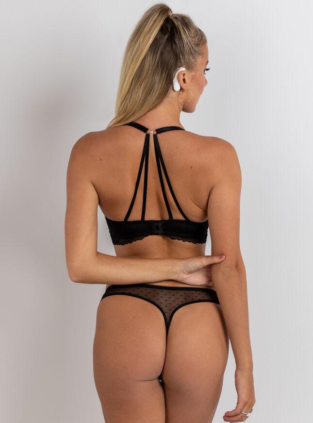 Maybelle plunge lingerie set