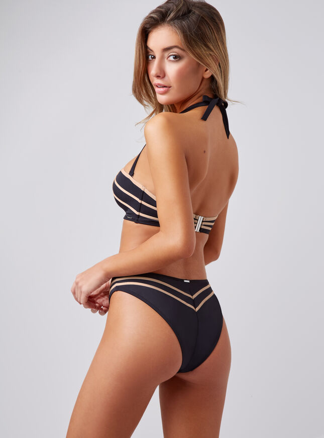 Manali high leg bikini briefs