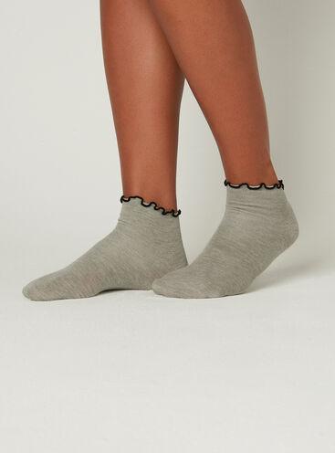 3 pack frill socks