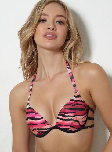 1aa2078f9a Argentina tiger print bikini top