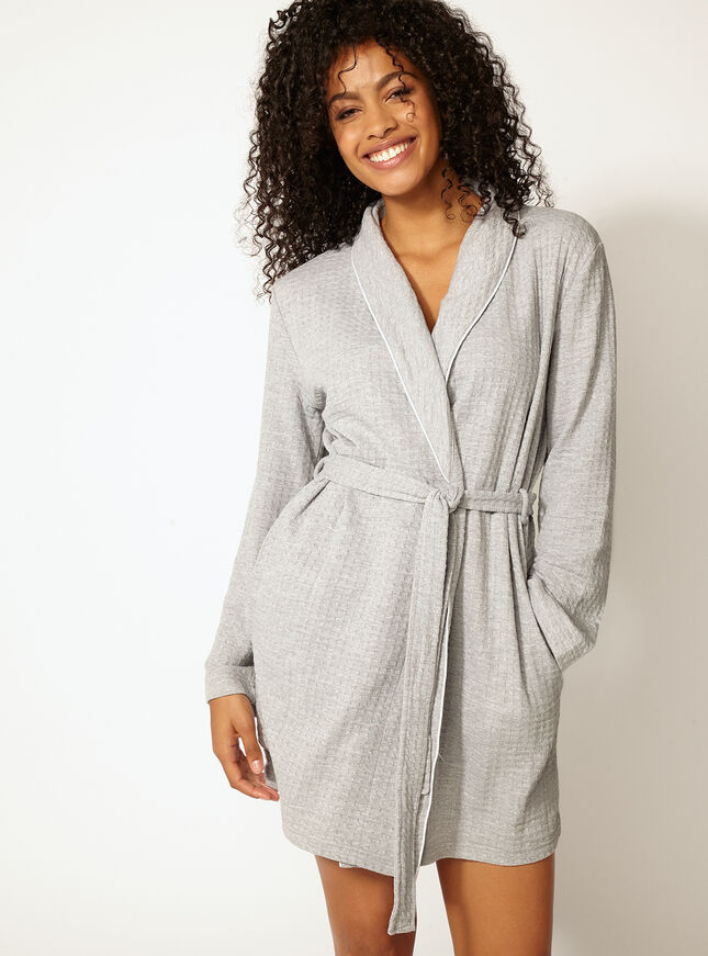 Waffle Dressing Gown Boux Avenue