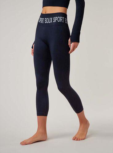 Boux Sport jacquard zebra 7/8 leggings