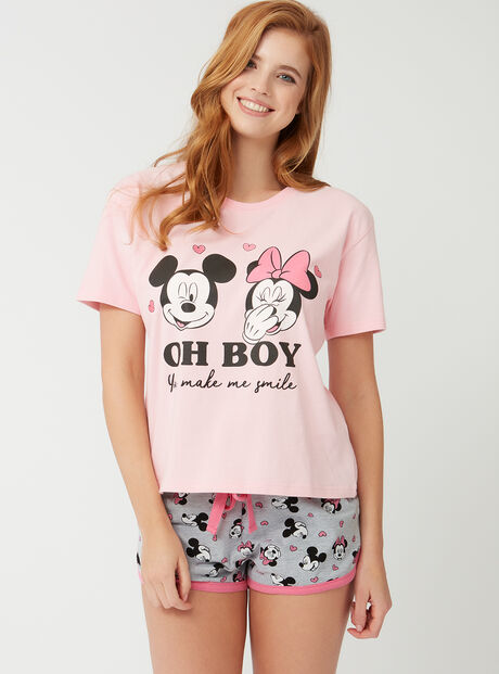 Mickey and Minnie mouse pyjama set