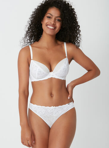 Malise lace Brazilian briefs