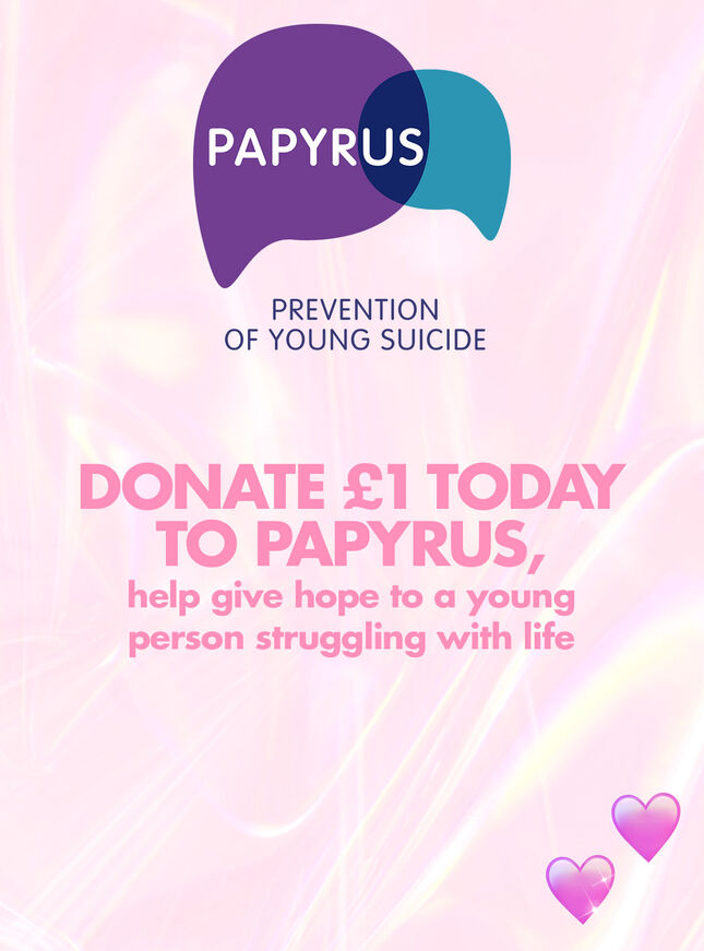 Papyrus charity donation
