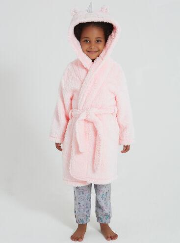 Girls unicorn robe