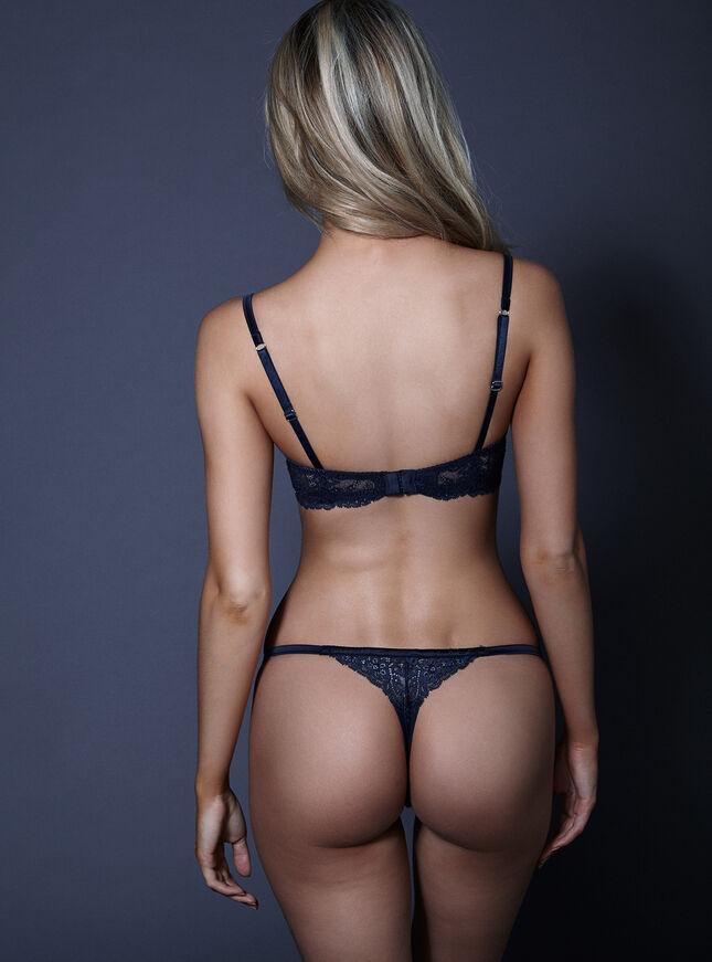 Daniella non-padded balconette bra