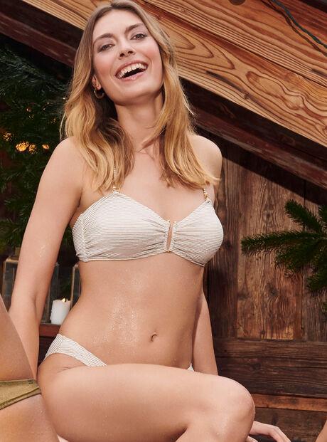 Moritz U trim multiway bikini top