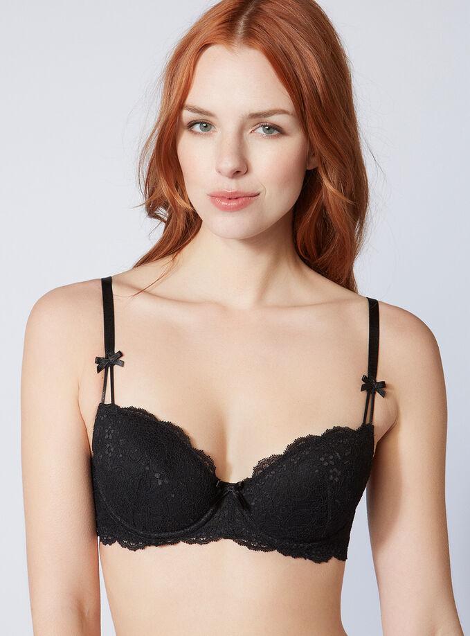 bff32417e89 Chloe lace balconette bra. Model wears size 32C
