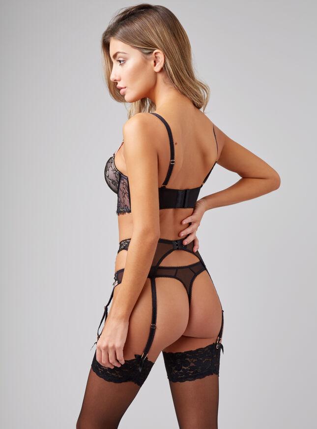 Madeline suspender belt