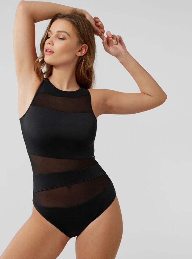 Latina mesh swimsuit