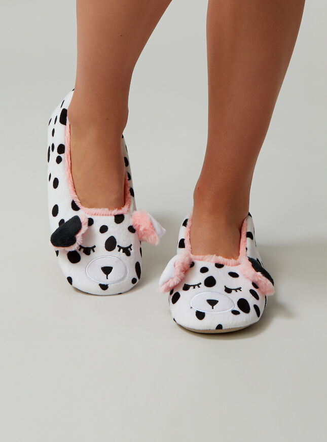 Dalmatian slippers
