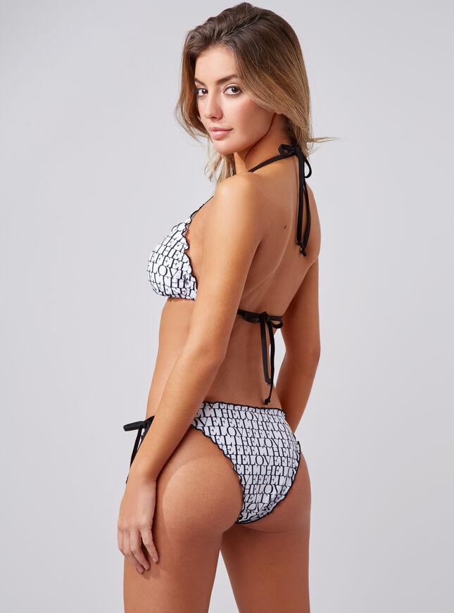 Cyprus triangle bikini top