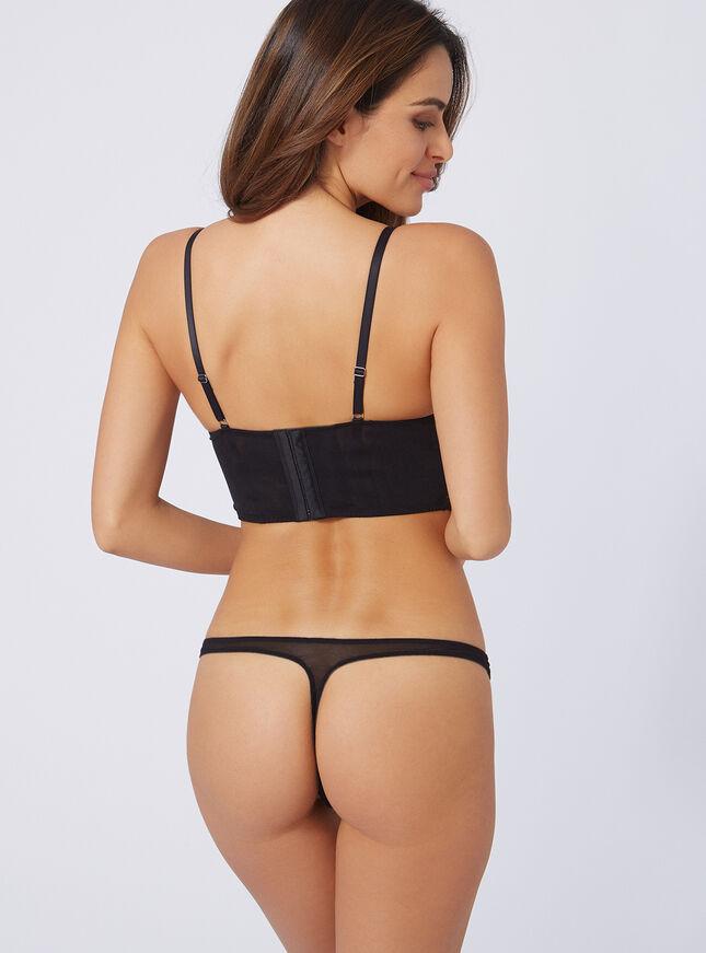 Paige mesh thong