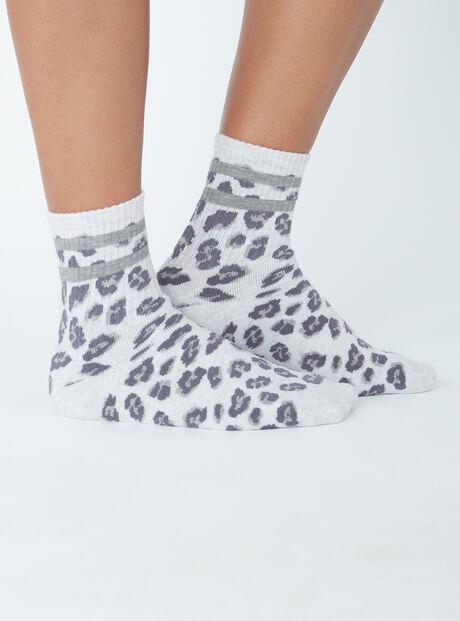 Leopard socks