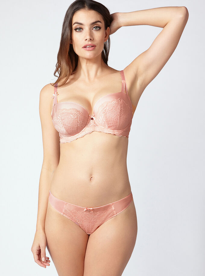 c82c6c91b2 Myah full support balconette bra. Model wears size 32E