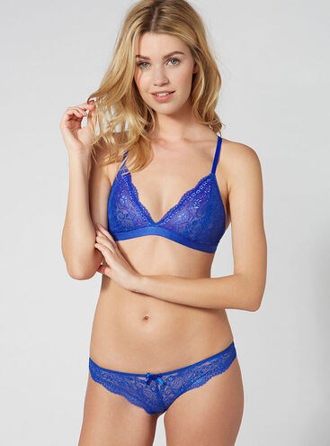 Lucie triangle bra