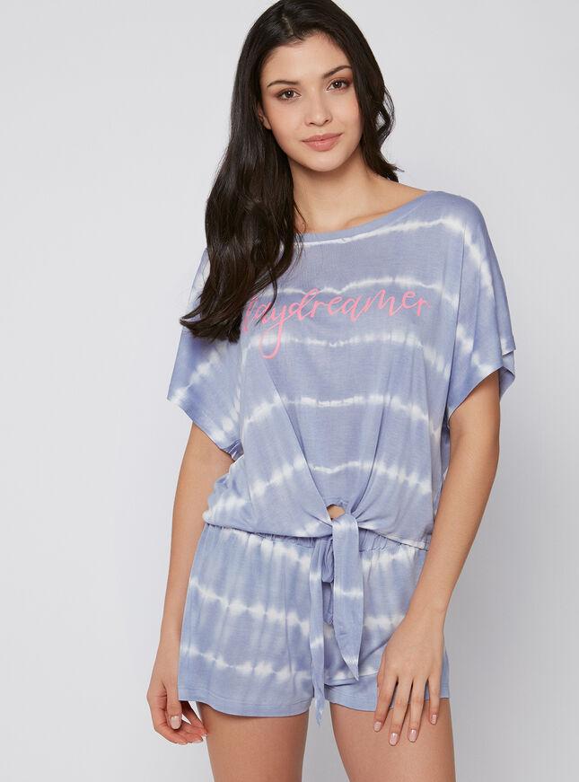 Daydreamer tie dye pyjama set