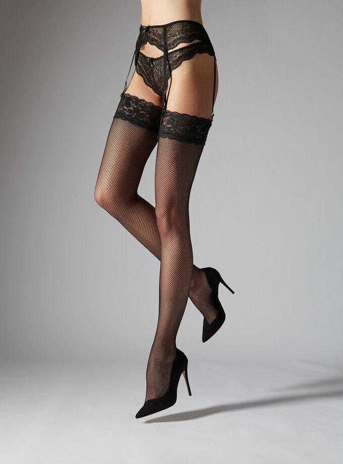 0d06334554d Lace Top Fishnet Stockings