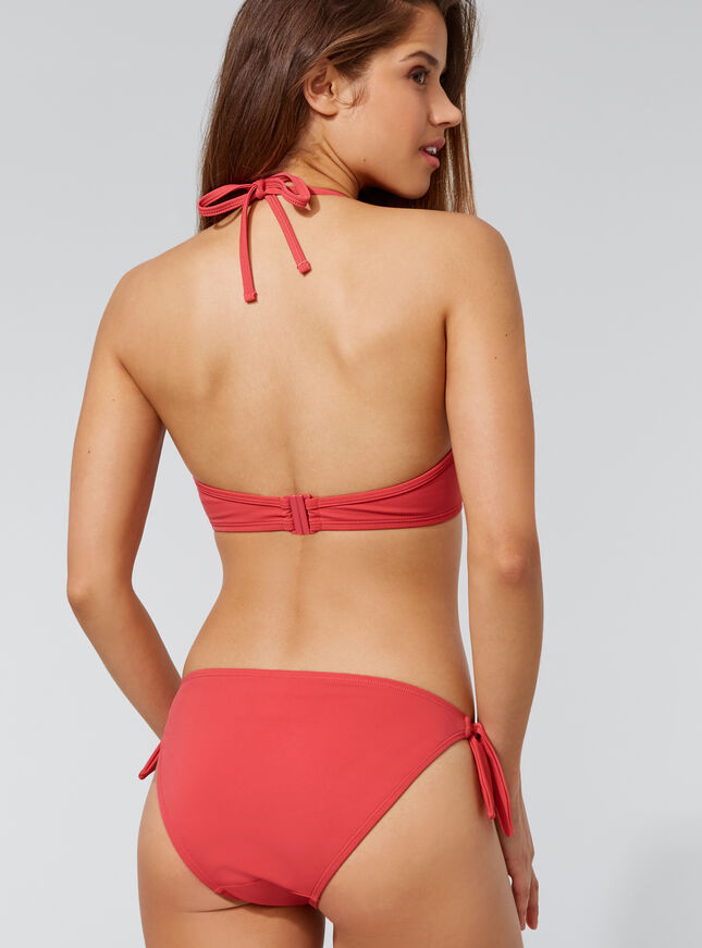 Croatia tassel bikini top