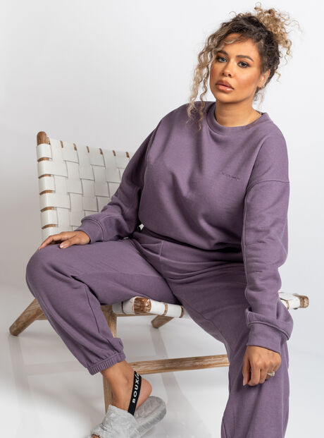 Boux lounge washed sweatshirt