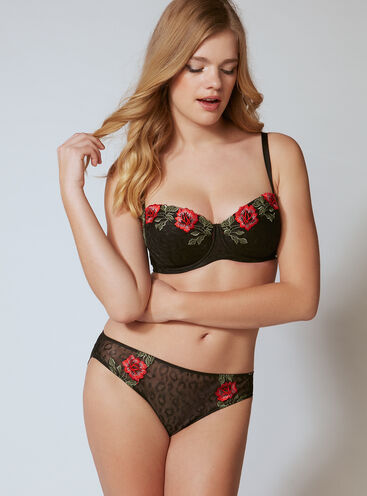 Jinny rose embroidered briefs