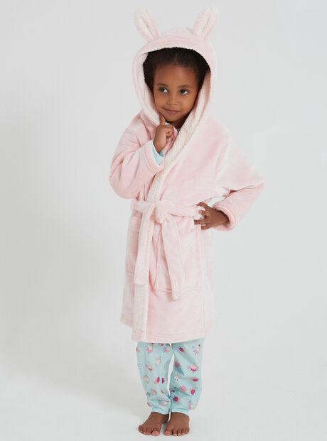 Girls bunny robe