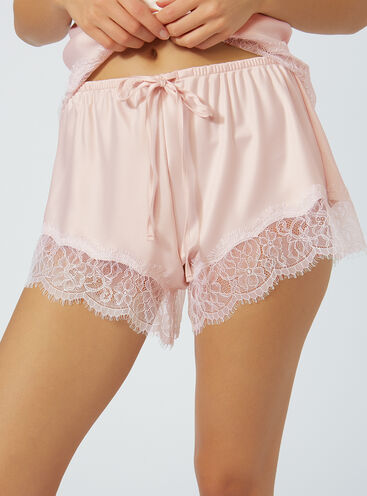 Harriet satin shorts