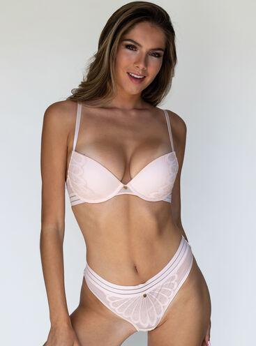 Arielle plunge lingerie set