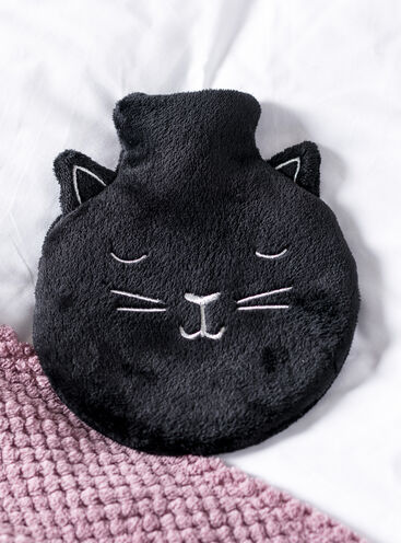 Cat hot water bottle
