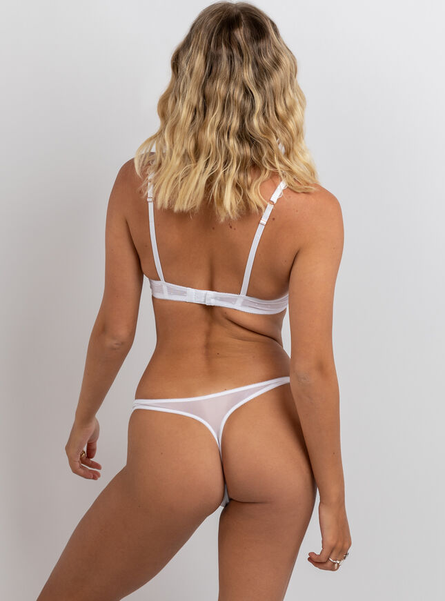 Elianna plunge lingerie set
