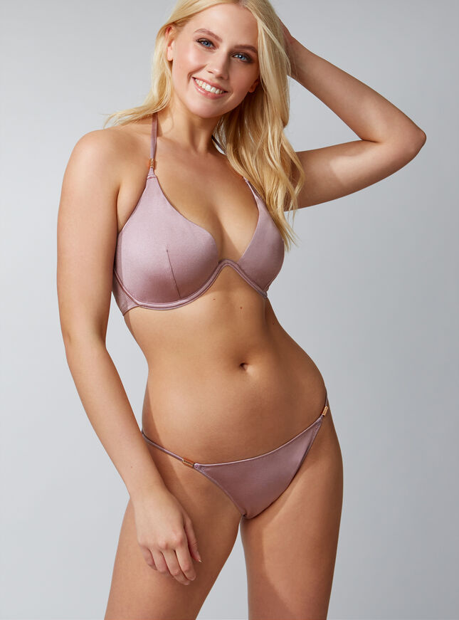 Ibiza trim bikini top