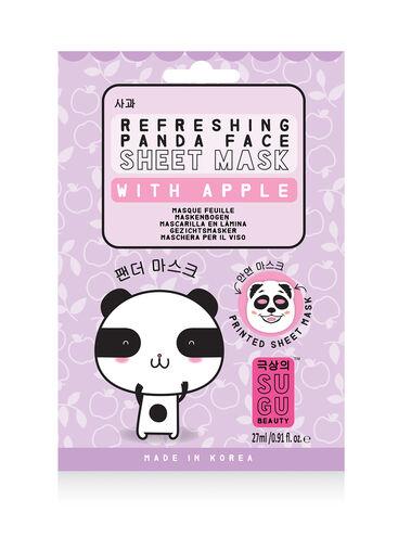 Refreshing panda face sheet mask