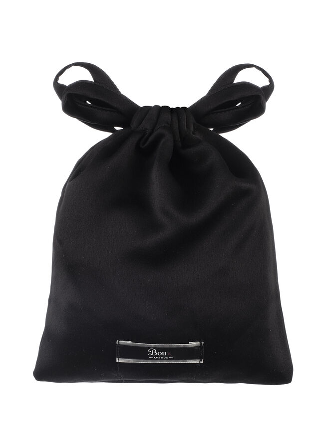 Satin eye mask in a bag