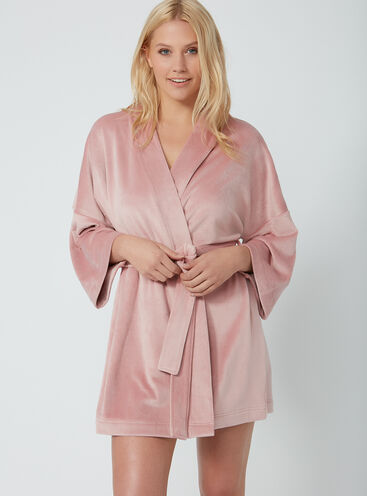 Dressing Gowns Short Fleece Hooded Womens Dressing Gowns Boux