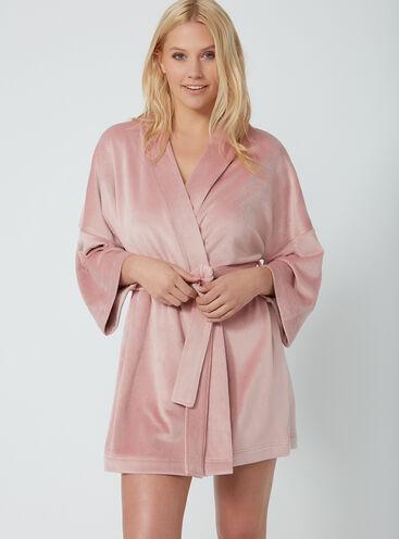 Dressing Gowns Short Fleece Hooded Womens Dressing Gowns Boux