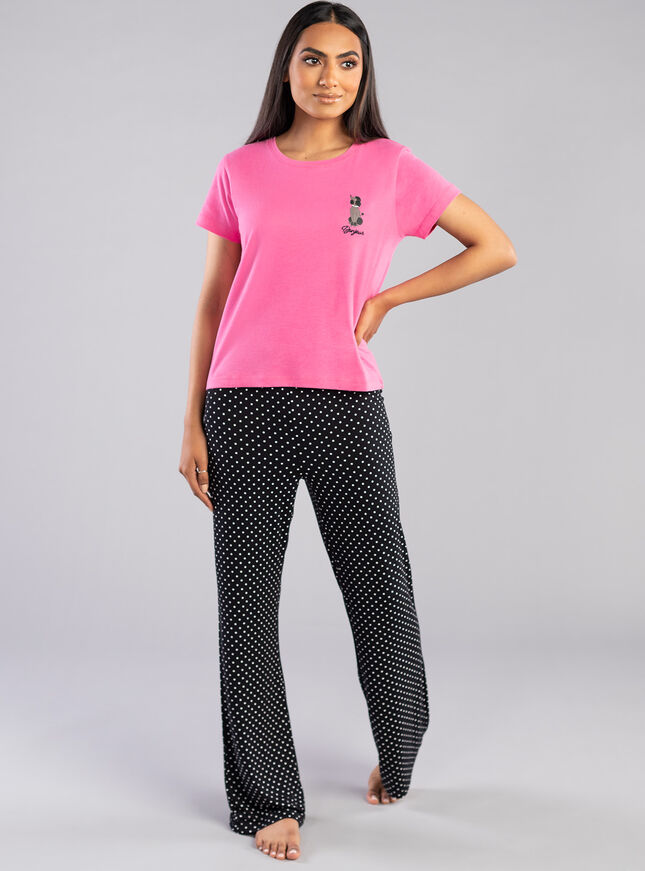Bonjour poodle tee and pant