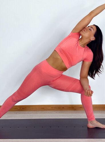 BouxSportContour marl seamless leggings