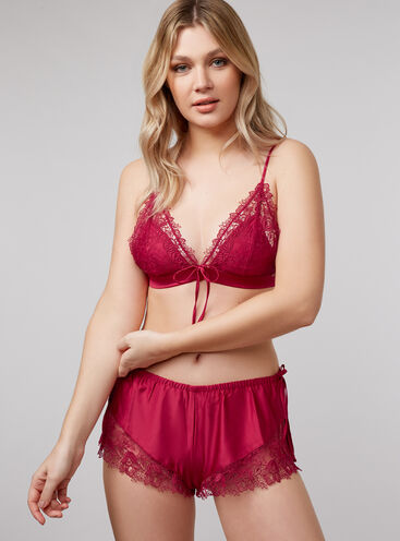 Bouxtique by Boux Avenue guipure lace bralette and shorts set