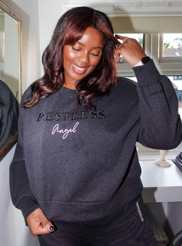 Restless angel sweatshirt
