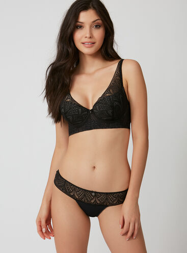 Deco lace briefs
